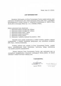 Referencje Kronospan Mielec 2015