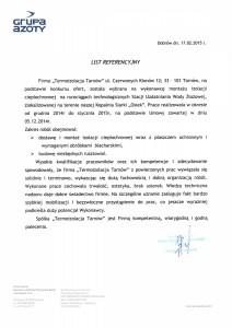referencje Siarkopol 17 02 2015r